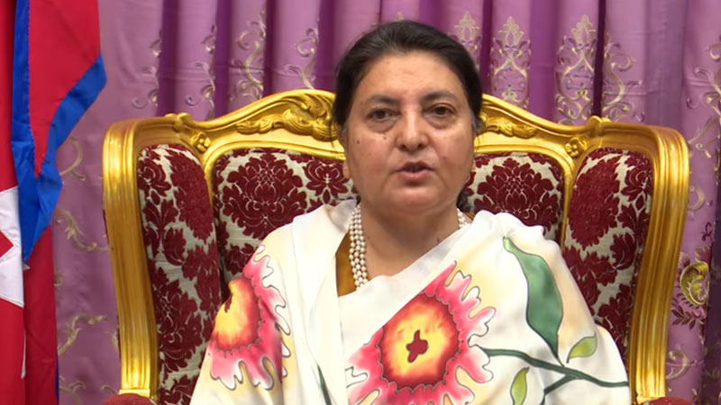 Vidyadevi Bhandari, biddhyadebi bhandari,president of nepal,
