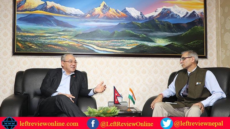 ram bahadur thapa badal, binaya mohan kwatra, indian ambassador to nepal