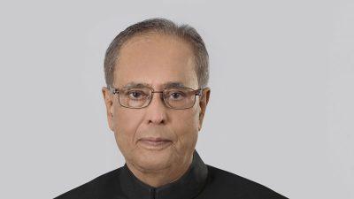 अध्यक्ष प्रचण्डद्वारा भारतका पूर्वराष्ट्रपति प्रणव मुखर्जी प्रति श्रद्धाञ्जली व्यक्त